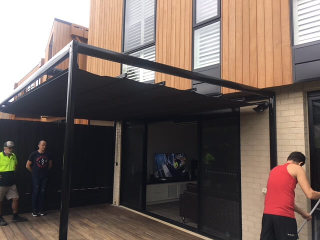 Retractable Pergola Systems Victoria